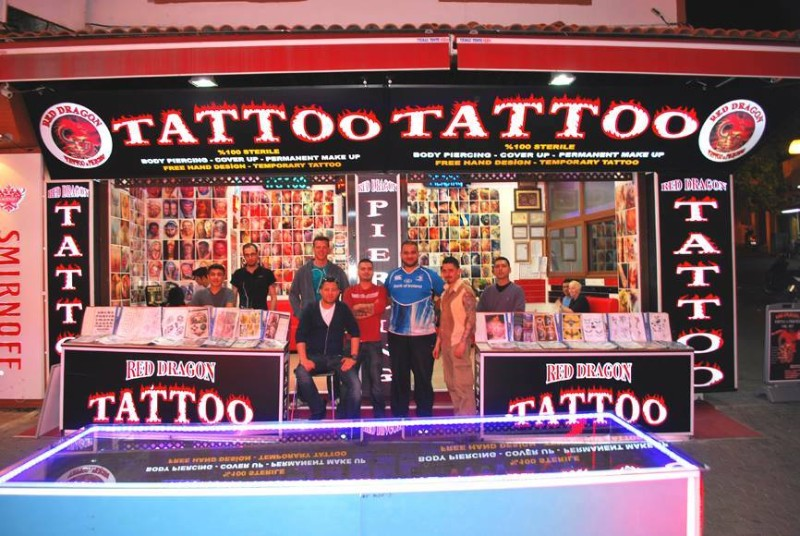 Red Dragon Tattoo Piercing Crew Members Guide To Ports